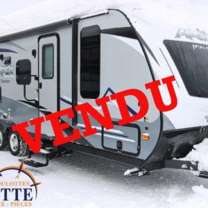 Apex 245 BHS 2019 -LM Cossette inc. vr roulotte fifth wheel caravane rv travel trailer - cherokee grey wolf pup kodiak aspen trail arctic wolf alpha wolf cub apex nano