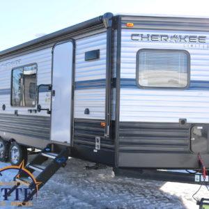 Cherokee 234 VFK 2019 - LM Cossette inc. vr roulotte fifth wheel caravane rv travel trailer - cherokee grey wolf pup kodiak aspen trail arctic wolf alpha wolf cub apex nano