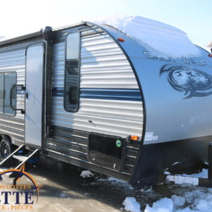 Grey Wolf 22 MKSE 2019 - LM Cossette inc. vr roulotte fifth wheel caravane rv travel trailer - cherokee grey wolf pup kodiak aspen trail arctic wolf alpha wolf cub apex nano