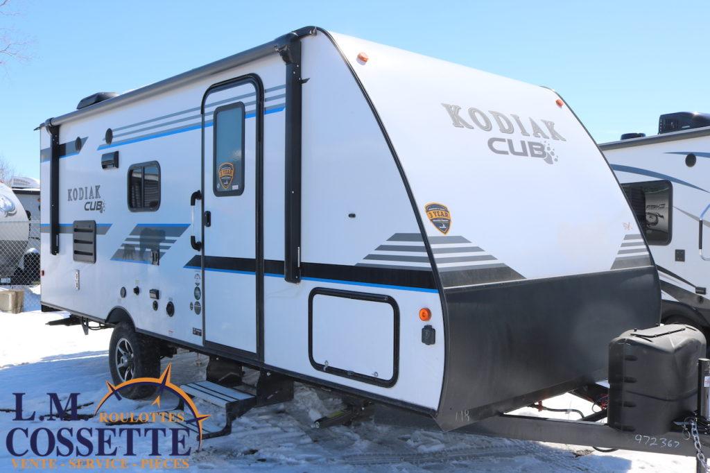 KODIAK Cub 198 BHSL 2019 - LM Cossette inc. vr roulotte fifth wheel caravane rv travel trailer - cherokee grey wolf pup kodiak aspen trail arctic wolf alpha wolf cub apex nano