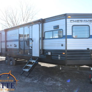 Cherokee 304 VFK 2019 - LM Cossette inc. vr roulotte fifth wheel caravane rv travel trailer - cherokee grey wolf pup kodiak aspen trail arctic wolf alpha wolf cub apex nano
