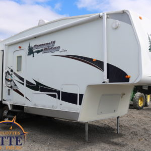 Summit Ridge F265 DS-BS LM Cossette inc. vr roulotte fifth wheel caravane rv travel trailer - cherokee grey wolf pup kodiak aspen trail arctic wolf alpha wolf cub apex nano