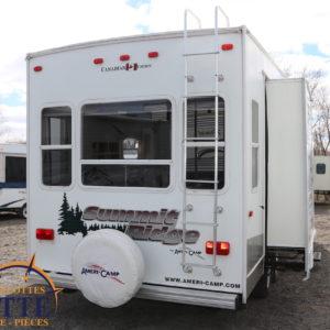 Summit Ridge F265 DS-BS LM Cossette inc. vr roulotte fifth wheel caravane rv travel trailer - cherokee grey wolf pup kodiak aspen trail arctic wolf alpha wolf cub apex nano