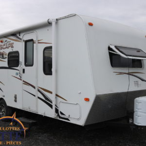 Escape Spree E196S 2013 -LM Cossette inc. vr roulotte fifth wheel caravane rv travel trailer - cherokee grey wolf pup kodiak aspen trail arctic wolf alpha wolf cub apex nano