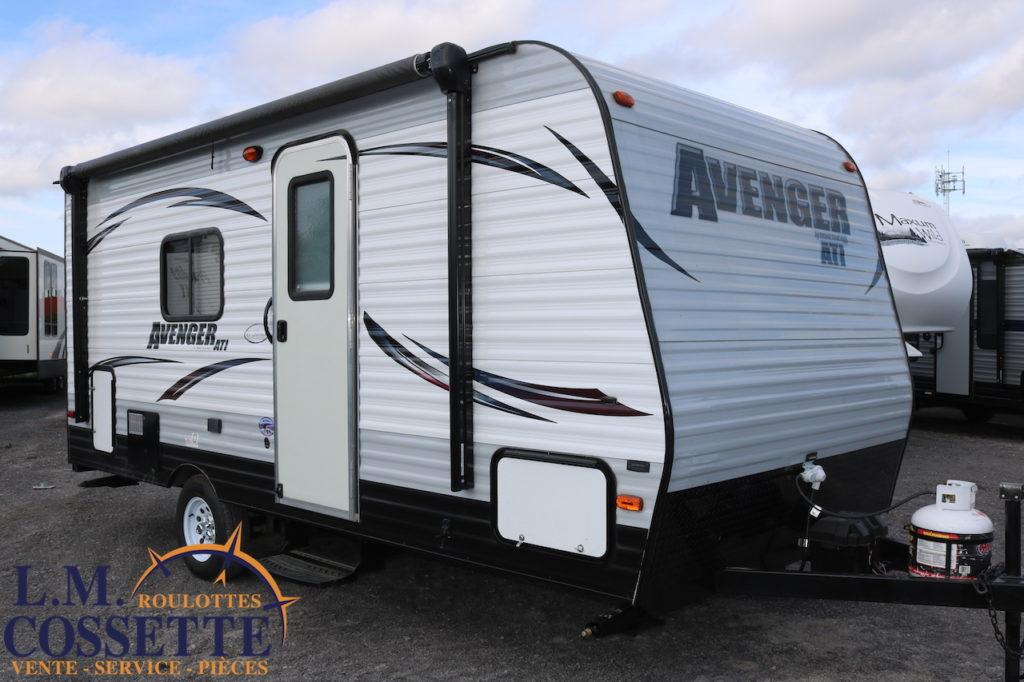 Avenger 17 QB 2015 -LM Cossette inc. vr roulotte fifth wheel caravane rv travel trailer - cherokee grey wolf pup kodiak aspen trail arctic wolf alpha wolf cub apex nano