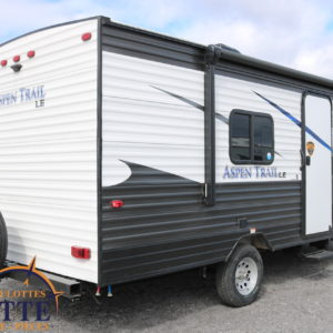 Aspen Trail 1850 RB 2020 -LM Cossette inc. vr roulotte fifth wheel caravane rv travel trailer - cherokee grey wolf pup kodiak aspen trail arctic wolf alpha wolf cub apex nano