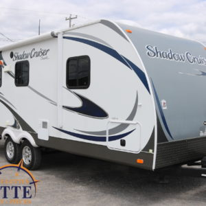 Shadow Cruiser 225 RBS 2013 -LM Cossette inc. vr roulotte fifth wheel caravane rv travel trailer - cherokee grey wolf pup kodiak aspen trail arctic wolf alpha wolf cub apex nano