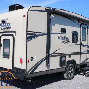 Vista Cruiser 19 BFD 2018 -LM Cossette inc. vr roulotte fifth wheel caravane rv travel trailer - cherokee grey wolf pup kodiak aspen trail arctic wolf alpha wolf cub apex nano