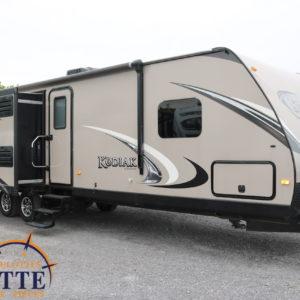 Kodiak 300 BHSL 2014 LM Cossette inc. vr roulotte fifth wheel caravane rv travel trailer - cherokee grey wolf pup kodiak aspen trail arctic wolf alpha wolf cub apex nano-fond ancien