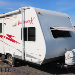 Fun Finder X-160 2008 LM Cossette inc. vr roulotte fifth wheel caravane rv travel trailer - cherokee grey wolf pup kodiak aspen trail arctic wolf alpha wolf cub apex nano