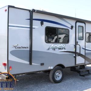 Apex Nano 187 RB 2020 LM Cossette inc. vr roulotte fifth wheel caravane rv travel trailer - cherokee grey wolf pup kodiak aspen trail arctic wolf alpha wolf cub apex nano roulotte a vendre trois-rivières