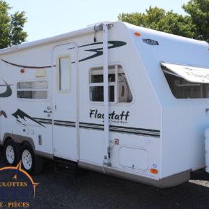 Flagstaff 25 FS 2006 -LM Cossette inc. vr roulotte fifth wheel caravane rv travel trailer - cherokee grey wolf pup kodiak aspen trail arctic wolf alpha wolf cub apex nano roulotte a vendre trois-rivières