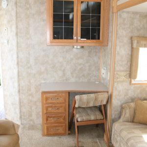 Bayridge 38 FK 2008 -LM Cossette inc. vr roulotte fifth wheel caravane rv travel trailer - cherokee grey wolf pup kodiak aspen trail arctic wolf alpha wolf cub apex nano roulotte a vendre trois-rivières