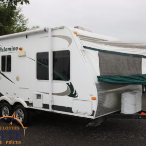 Palomino Stampede 195 SD 2010 -LM Cossette inc. vr roulotte fifth wheel caravane rv travel trailer - cherokee grey wolf pup kodiak aspen trail arctic wolf alpha wolf cub apex nano roulotte a vendre trois-rivières