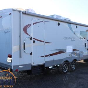 Viewfinder 28 BHSS 2013--LM Cossette inc. vr roulotte fifth wheel caravane rv travel trailer - cherokee grey wolf pup kodiak aspen trail arctic wolf alpha wolf cub apex nano roulotte a vendre trois-rivières