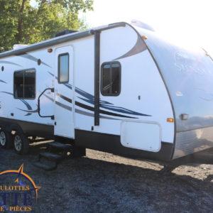 Sunset Trail 29 QB 2012 -LM Cossette inc. vr roulotte fifth wheel caravane rv travel trailer - cherokee grey wolf pup kodiak aspen trail arctic wolf alpha wolf cub apex nano roulotte a vendre trois-rivières