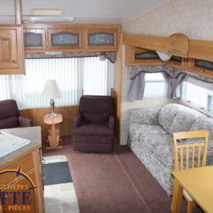 Colorado 27 RL 2005 -LM Cossette inc. vr roulotte fifth wheel caravane rv travel trailer - cherokee grey wolf pup kodiak aspen trail arctic wolf alpha wolf cub apex nano roulotte a vendre trois-rivières
