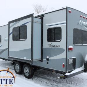 Apex Nano 213 RDS 2020 LM Cossette inc. vr roulotte fifth wheel caravane rv travel trailer - cherokee grey wolf pup kodiak aspen trail arctic wolf alpha wolf cub apex nano roulotte a vendre trois-rivières-