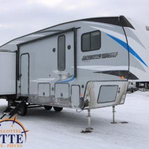 Arctic Wolf 298 LB 2020 -LM Cossette inc. vr roulotte fifth wheel caravane rv travel trailer - cherokee grey wolf pup kodiak aspen trail arctic wolf alpha wolf cub apex nano roulotte a vendre trois-rivières