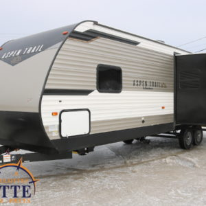 Aspen Trail 2881 RKS 2020 -LM Cossette inc. vr roulotte fifth wheel caravane rv travel trailer - cherokee grey wolf pup kodiak aspen trail arctic wolf alpha wolf cub apex nano roulotte a vendre trois-rivières
