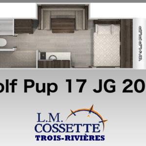 Wolf Pup 17 JG 2020 - LM Cossette inc. vr roulotte fifth wheel caravane rv travel trailer - cherokee grey wolf pup kodiak aspen trail arctic wolf alpha wolf cub apex nano roulotte a vendre trois-rivières-