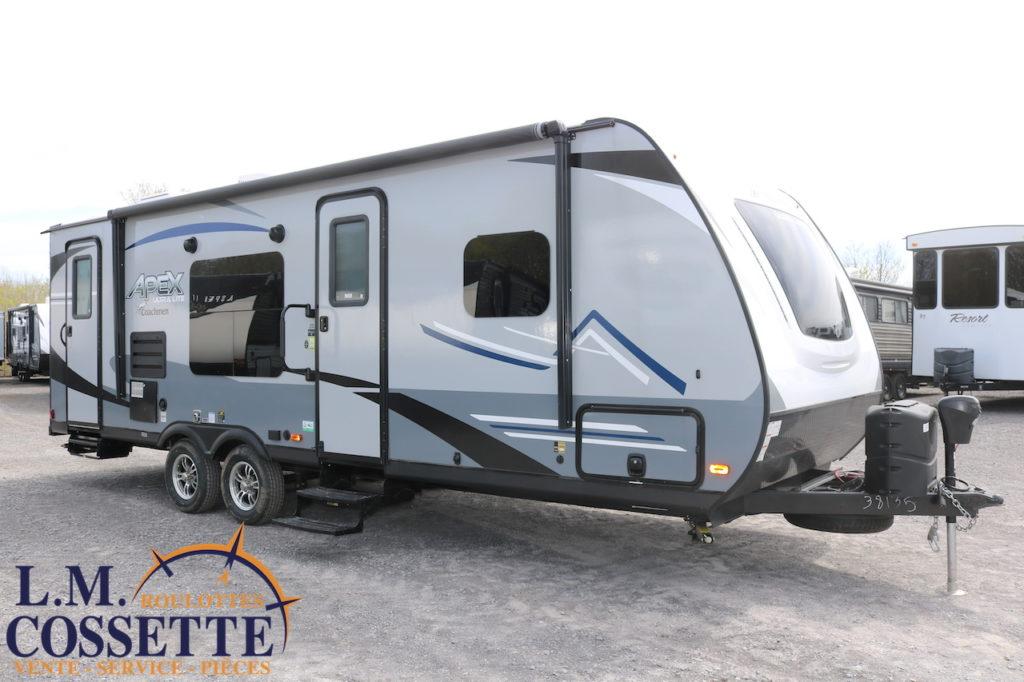 Apex 249 RBS 2021 --LM Cossette inc. vr roulotte fifth wheel caravane rv travel trailer - cherokee grey wolf pup kodiak aspen trail arctic wolf alpha wolf cub apex nano roulotte a vendre trois-rivières