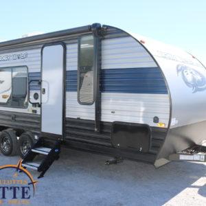 Grey Wolf 18 MT 2021 --LM Cossette inc. vr roulotte fifth wheel caravane rv travel trailer - cherokee grey wolf pup kodiak aspen trail arctic wolf alpha wolf cub apex nano roulotte a vendre trois-rivières