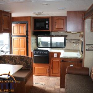Surveyor SV264 2012 --LM Cossette inc. vr roulotte fifth wheel caravane rv travel trailer - cherokee grey wolf pup kodiak aspen trail arctic wolf alpha wolf cub apex nano roulotte a vendre trois-rivières