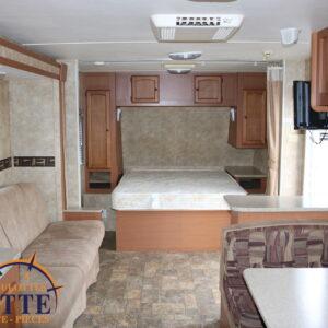 Streamlite 27 BKS 2011 --LM Cossette inc. vr roulotte fifth wheel caravane rv travel trailer - cherokee grey wolf pup kodiak aspen trail arctic wolf alpha wolf cub apex nano roulotte a vendre trois-rivières