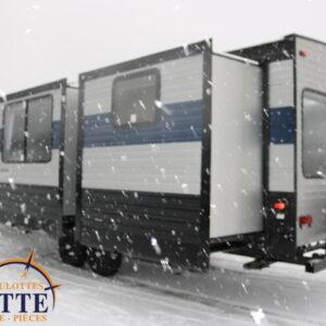 Cherokee 304 BH 2021-LM Cossette inc. vr roulotte fifth wheel caravane rv travel trailer - cherokee grey wolf pup kodiak aspen trail arctic wolf alpha wolf cub apex nano roulotte a vendre trois-rivières