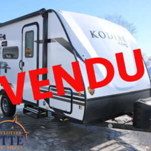 Kodiak Cub 175 BH 2021 -LM Cossette inc. vr roulotte fifth wheel caravane rv travel trailer - cherokee grey wolf pup kodiak aspen trail arctic wolf alpha wolf cub apex nano roulotte a vendre trois-rivières